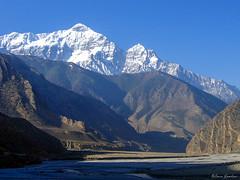 Towards Mustang. Annapurna Circuit, Nepal 2007