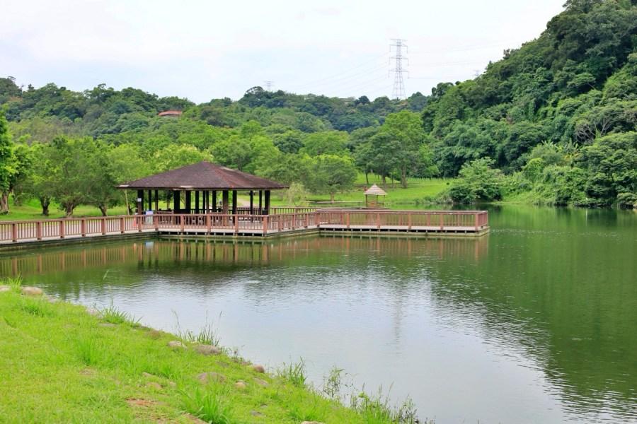 [龍潭景點]三坑老街&三坑自然生態公園|龍潭免費親子景點一日遊‧結合人文自然生態湖景戲水野餐勝地 @VIVIYU小世界