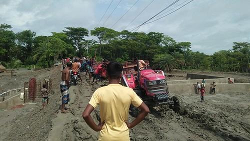 kalapara   pic  - 29.06.2020 - break road of troly.