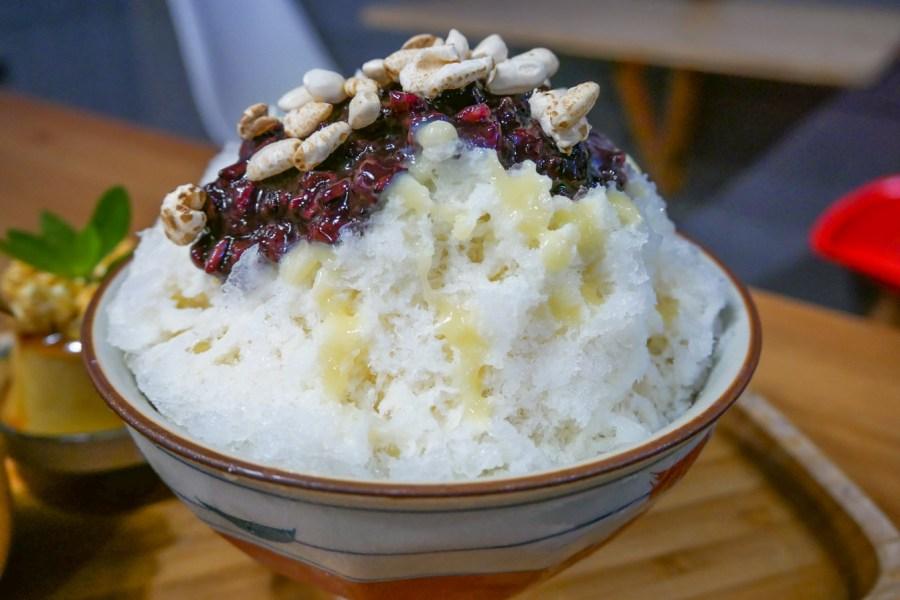 [桃園美食]綠町冰室.二訪|建國國中對面懷舊復古冰果室‧食尚玩家特別推薦‧消暑聖品水果系列冰品 @VIVIYU小世界