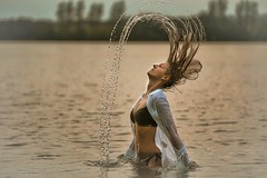 ....Water games...