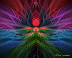 Abstract Art Illusion of Light