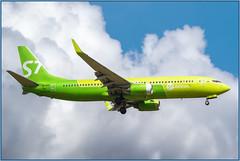 Boeing 737-800 -8Q8 (WL) S7 VP-BDG at LED