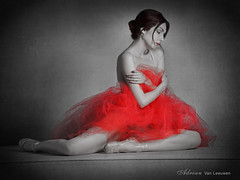 Ballerina Lost in Thought - Kaitlin C