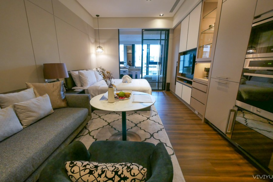 [台北住宿]新美齊酒店式公寓 Park 259 鄰近大安森林公園站、東門站~絕佳精華地段.可租中長期 @VIVIYU小世界