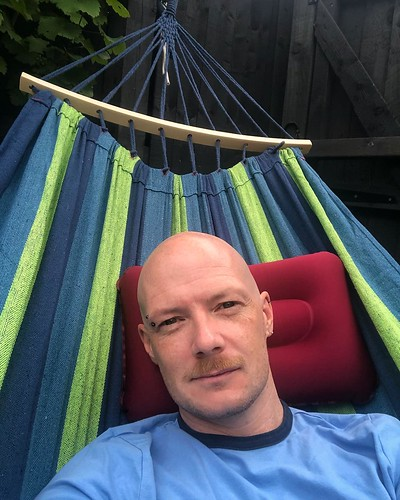 Today is all about...when the husby buys himself a hammock and I nick it ❤️