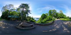 Aussichtspunkt Reiherberg - Blick auf den Haussee 360 Grad