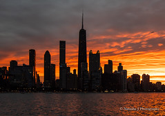 You only live once, but if you do it right, once is enough.  Chicago Sunset, August 2020