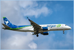 Embraer ERJ-190-100 LR Pegas Fly (Ikar) VP-BZJ