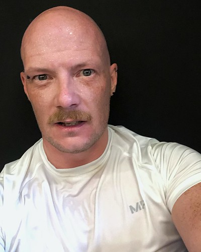 Today is all about...wondering if I went to exercise or to enter a wet t-shirt competition
