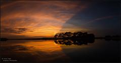 Hatchet Pond Sunset Panorama