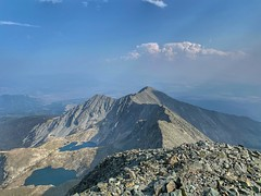 View towards the southeast from Blanca Peak