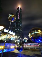 Taipei 101   (幾米月亮公車旁)