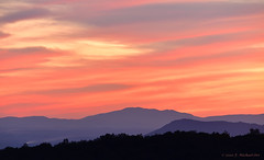 Shenandoah NP Sunset & Milky Way