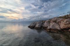 Sea, stones and sky