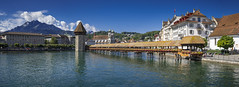 Le pont de Lucerne (Kapellbrücke)