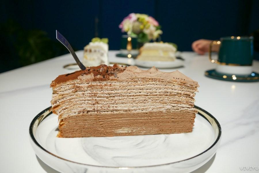 [台中北區]香緹果子咖啡館|搬新家環境更寬敞~水果千層蛋糕滿滿的幸福感 @VIVIYU小世界