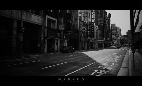 2020/3/22新冠病毒影響下的台北街頭,格外冷清