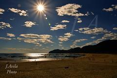 Amanecer playa Trengandin