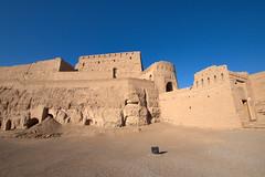 Desert fortress in Meybod, Iran