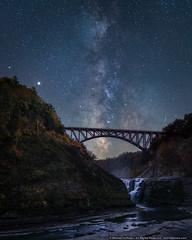 Milky Way over Letchworth