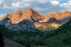 Maroon Bells in Sweet Light