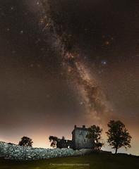 Balvaird Castle Milky Way