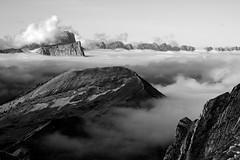 Loin de la folie des Hommes, la montagne est une forteresse... Far from the madness of men, the mountain is a fortress... #E-M10MarkII  #ART #Gimp #DigiKam