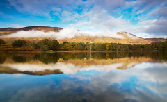 Derwent water cloud & mist 2