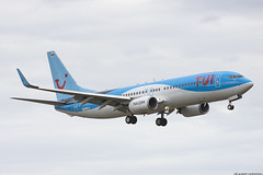 737-800 Ex Malaysian Airlines will be G-TUKD TUI