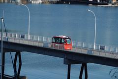 Robotbus on the Malmøya Bridge