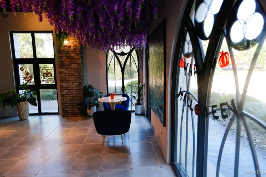 [龍潭美食]邸家咖啡 Deja Brew ~藏身在龍潭渴望園區內的歐式古堡莊園.情人浪漫約會處 @VIVIYU小世界
