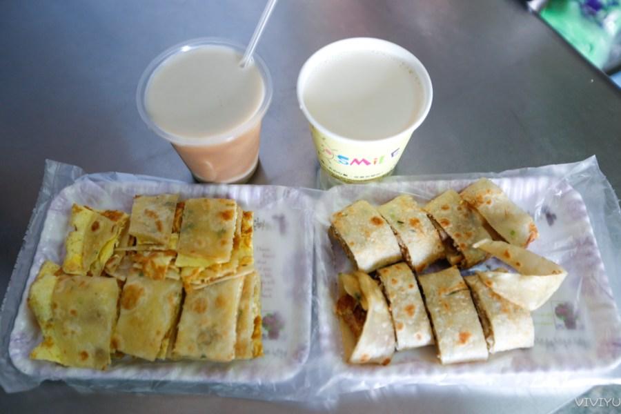 [平鎮美食]忠貞傳統蛋餅 忠貞市場好弄中現做軟Q餅皮‧現擀麵糰眷村味傳統中式早餐 @VIVIYU小世界