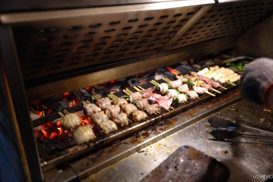[嘉義美食]燃手串日式串燒|文化路夜市圓環旁~適合宵夜續攤小酌的好地方 @VIVIYU小世界