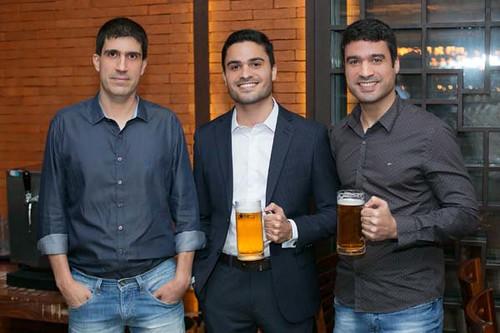 Wesely Miranda, Matheus Loxe e José de Paula
