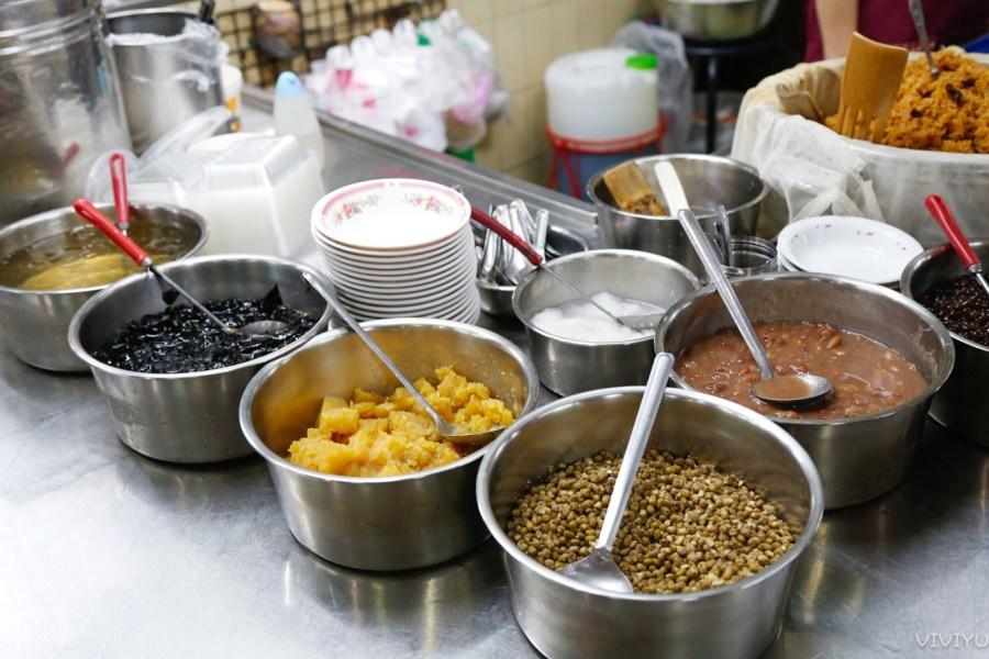[嘉義美食]東市國棟湯圓、粉條冰、甜米糕|東市場小吃巡禮~添加酒香與花生粉迷人滋味的甜米糕 @VIVIYU小世界