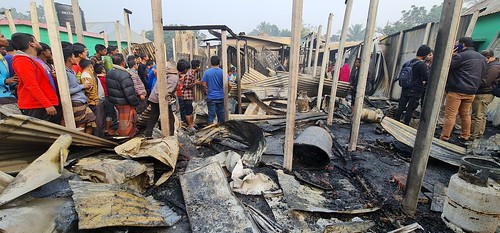 Gazipur-(1)- 11 January 2021-Fire At KLK (Four Dead Including Couple)-6