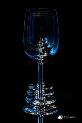 4 Glasses in blue
