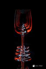 Glasses in Red