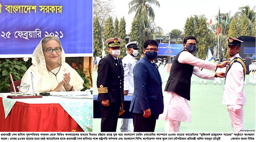 25-02-21-BD PM_BD Marine Academy 55th Batch Mujib Year Graduation Parade-7