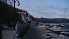 An der Seepromenade in Svetlogorsk (ehemals Rauschen)