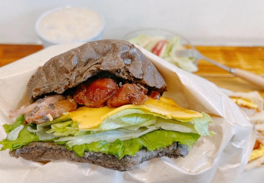 [蘆竹美食]先吃堡再說 南崁平價美式漢堡~脆皮堡、黑炭堡、波蘿堡任你選.隱藏版不定時出現 @VIVIYU小世界