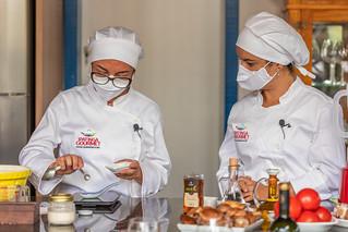 As chefs Ana Bittencourt e Ana Cecília abrem a próxima rodada de oficinas, no próximo domingo, 25