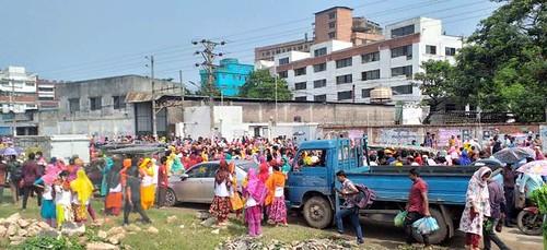 Gazipur-(1)- 10 June 2021- Garments Worker Unrest At Style Craft - Gorib & Gorib-3