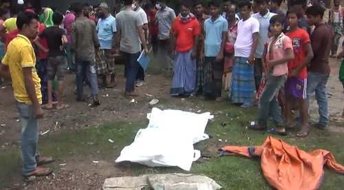 Gazipur-(1)- 05 June 2021-Train (Two Killed By Runover At Salna)-2