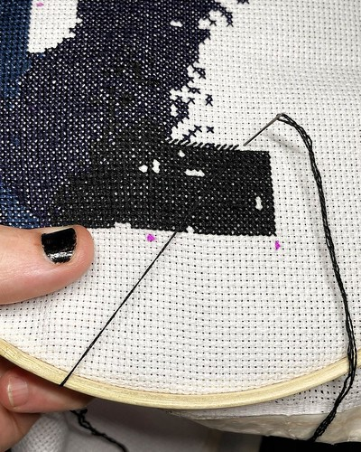 Today is all about…Marvel and crossstitch