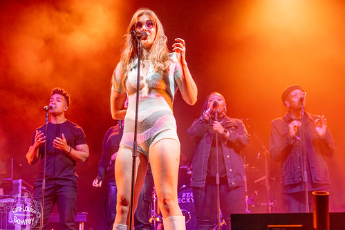 Becky Hill at Camp Bestival 2021