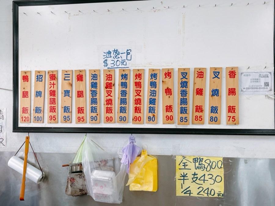 [八德美食]富華燒臘|桃鶯路上生意很好的香港燒臘手法~推薦必吃鴨腿飯 @VIVIYU小世界