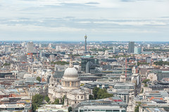 London from Sky Garden