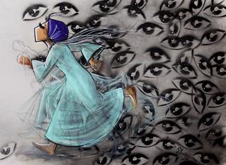 Shamsia-Hassani-Spray-and-acrylic-on-canvas-1-1024x747